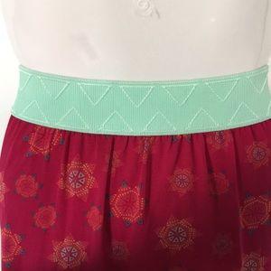 """LuLaRoe Skirts - New! Lularoe """"Lucy"""" Maxi Skirt"""